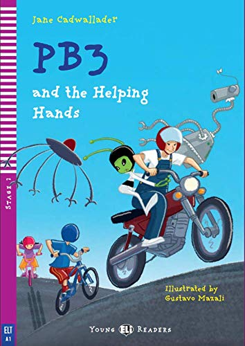 9788853615749: PB3 and the helping hands. Con CD Audio. Per la Scuola media (Serie young. Readers inglese)