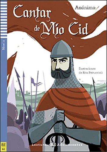 9788853615848: Cantar de Mio Cid. Nivel A2 (+ CD) (Lecturas Eli Adolescentes Nivel 2)