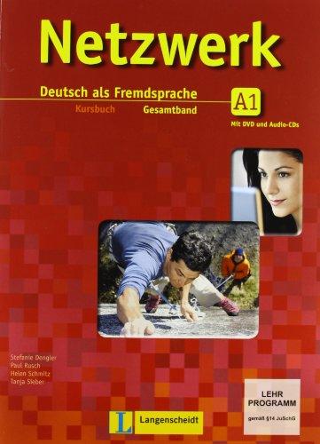 9788853616067: Netzwerk. A1. Kursbuch-Arbeitsbuch-Glossar. Per le Scuole superiori. Con CD Audio. Con DVD. Con espansione online