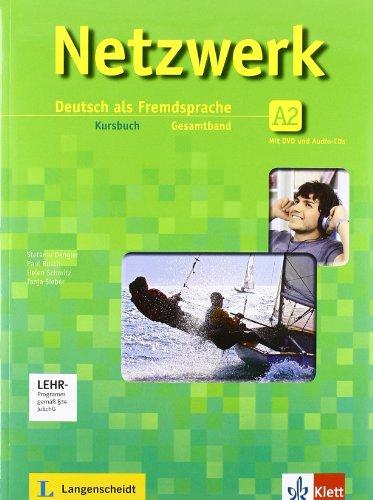 9788853616074: Netzwerk. A2. Kursbuch-Arbeitsbuch-Glossar. Per le Scuole superiori. Con CD Audio. Con DVD. Con espansione online