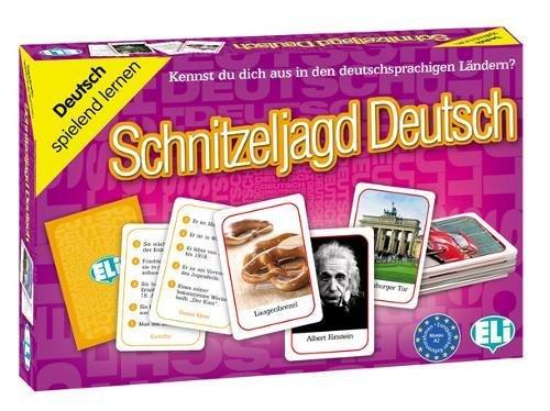 9788853619334: Schnitzeljagd Deutsch : Kennst du dich aus in den deutschsprachigen Ländern ?