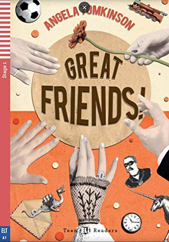 9788853620118: Teen Eli Readers - English: Great Friends + CD