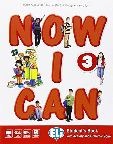 9788853620644: Now I can. Per la Scuola elementare. Con e-book. Con espansione online [Lingua inglese]: 3