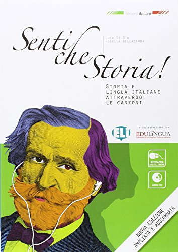 9788853621191: Percorsi Italiani: Senti Che Storia! - Libro + CD