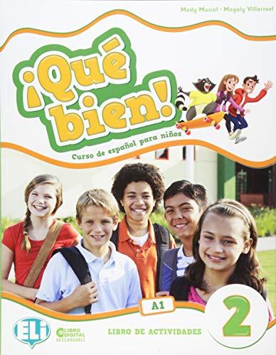 9788853623416: ¡Que bien! Libro de actividades. Per la Scuola elementare. Con CD-Audio (Vol. 2): Workbook + audio CD 2
