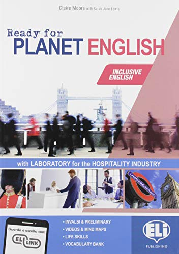 9788853627780: Ready for planet english. Hospitality industry. Student's book-Workbook-Grammar-Preliminary. Per le Scuole superiori. Con e-book. Con espansione online. Con CD-ROM
