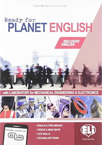 9788853627797: Ready for planet english. Mechanical engineering & electronics. Student's book-Workbook-Grammar-Preliminary. Per le Scuole superiori. Con e-book. Con espansione online. Con CD-ROM