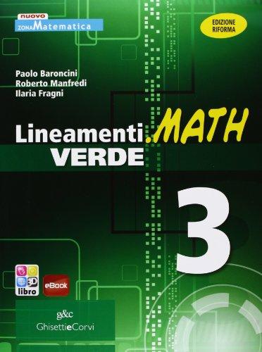 9788853805171: LINEAM.MATH VER.3: Vol. 3