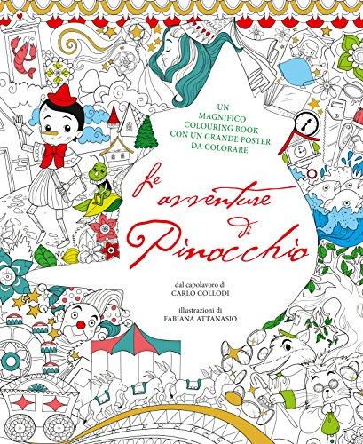 9788854031678: Le avventure di Pinocchio. Colouring book da Carlo Collodi. Con poster