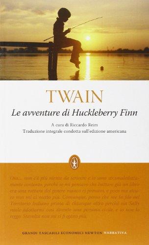 9788854119048: Le avventure di Huckleberry Finn. Ediz. integrale (Grandi tascabili economici)