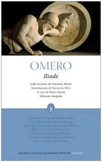 9788854119123: Iliade. Ediz. integrale (Grandi tascabili economici)