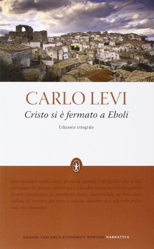 9788854120129: Cristo si è fermato a Eboli. Ediz. integrale (Grandi tascabili economici)
