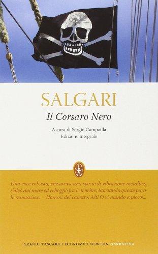 9788854134805: Il Corsaro Nero. Ediz. integrale (Grandi tascabili economici)