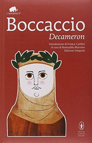Decameron. Ediz. integrale: Boccaccio, Giovanni