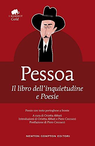 9788854191976: Il libro dell'inquietudine-Poesie. Testo portoghese a fronte