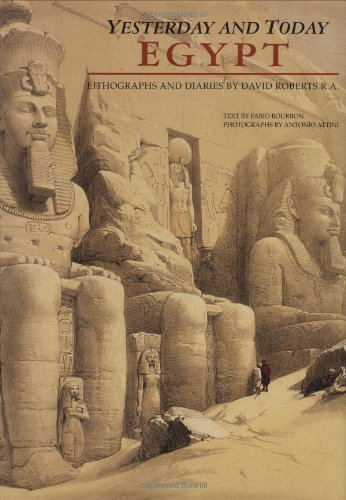 9788854400498: Egypt: Yesterday and Today (Explorers & Artists)