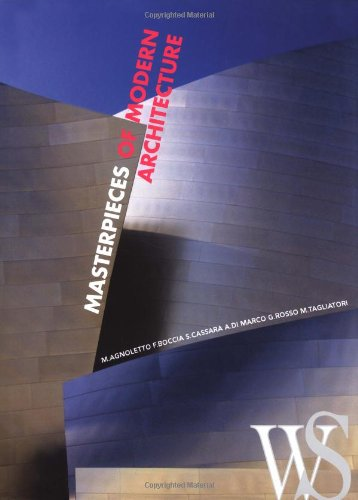9788854401457: Masterpieces of Modern Architecture
