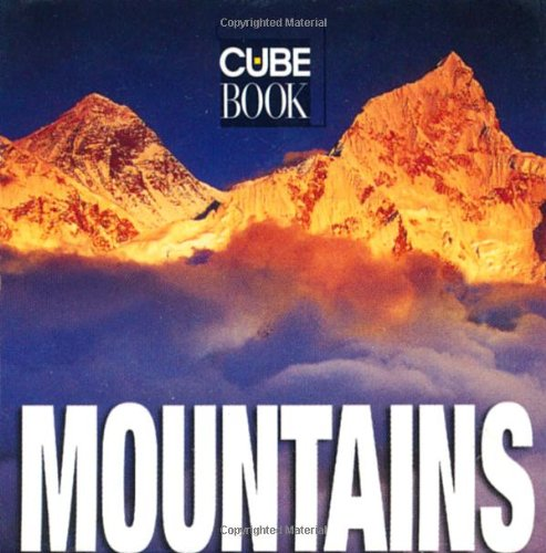 9788854402010: Mountains (Mini Cube Book)