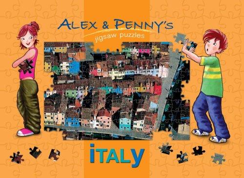 Alex & Penny's Italy Jigsaw Book: Francia, Giada