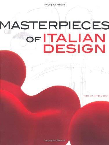 9788854405844: Masterpieces of italian design (I grandi libri di National Geographic)
