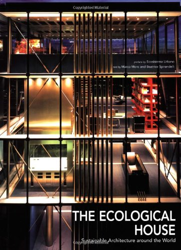 9788854405943: The Ecological House: Sustainable Architecture Around the World