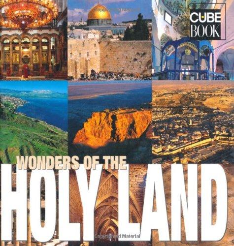 Wonders of the Holy Land (Cube Book): Giorgi, Carlo