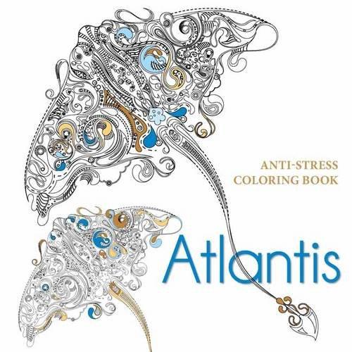 Atlantis Anti-stress Colouring Book: Various