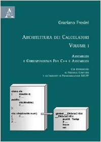 9788854823389: Architettura dei calcolatori: 1