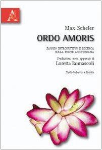 ORDO AMORIS SCHELER DOWNLOAD