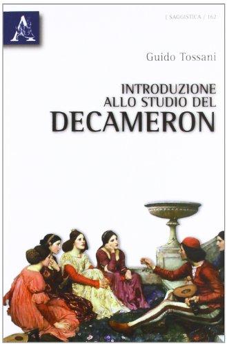 Introduzione allo studio del Decameron.: Tossani,Guido.