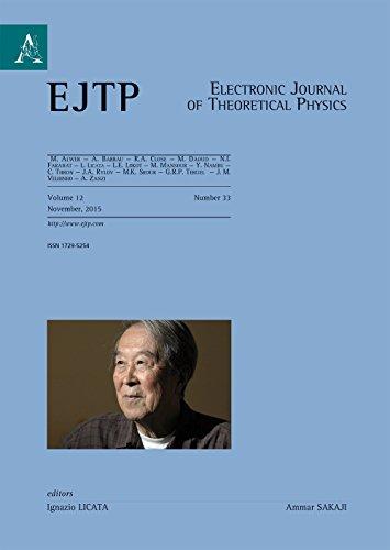 9788854889095: Electronic journal of theoretical physics. Ediz. italiana e inglese: 33