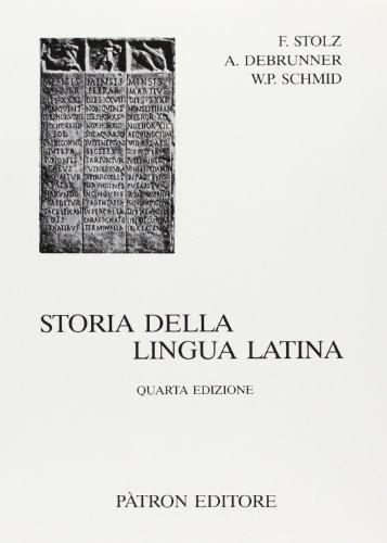 9788855522533: Storia della lingua latina (Testi insegnamento univers. del latino)