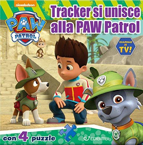 9788855629607: Tracker si unisce alla Paw Patrol. Paw Patrol. Libro puzzle