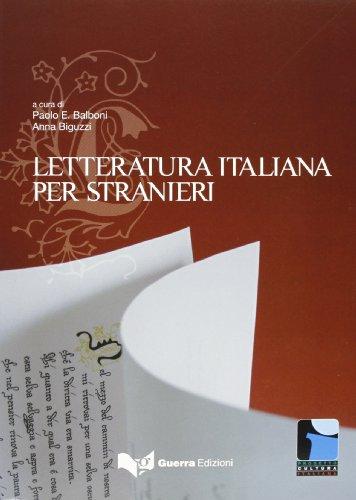 Letteratura Italiana Per Stranieri: Paolo E. Balboni