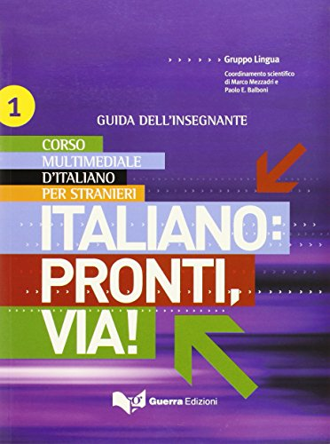 9788855701150: Italiano: Pronti, Via!: Audio CD (3) Level 1