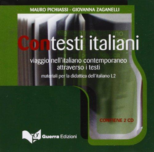 9788855701181: Contesti italiani. Viaggio nell'italiano contemporaneo attraverso i testi. 2 CD Audio