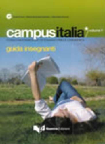 9788855701334: Campus Italia: Guida Insegnanti 1 (Italian Edition)