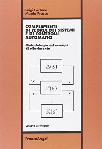 Complementi di teoria dei sistemi e di: Fortuna, Luigi; Frasca,