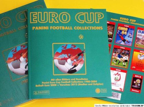 9788857004297: Panini Euro Cup Football Collections Paket 1980-2008 + Vorschau 2012 (Stadien und Zeitplan)
