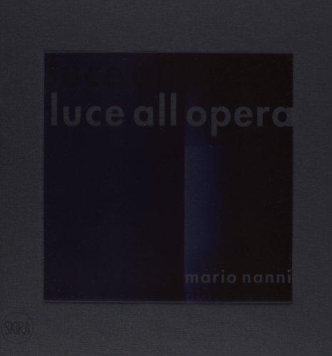 Mario Nanni. Luce all'opera: aa.vv.