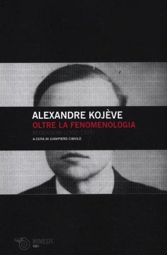 9788857508771: Oltre la fenomenologia. Recensioni (1932-1937) (Volti)