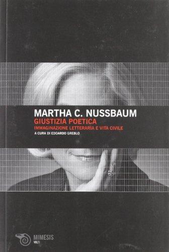 Giustizia poetica. Immaginazione letteraria e vita civile (8857509842) by Martha C. Nussbaum