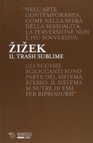 9788857511658: Il trash sublime (Minima volti)