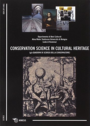 Conservation Science In Cultural Heritage: Historical-Technical journal: Mimesis International