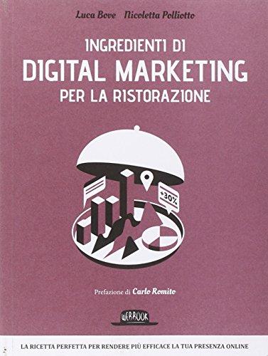 9788857905044: Ingredienti di digital marketing per la ristorazione (Web book)