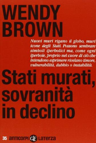 9788858105511: Stati murati, sovranità in declino