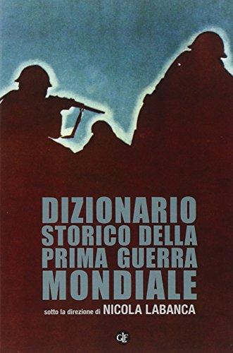 Dizionario Storico della Prima Guerra Mondiale: Labanca, Nicola (sotto