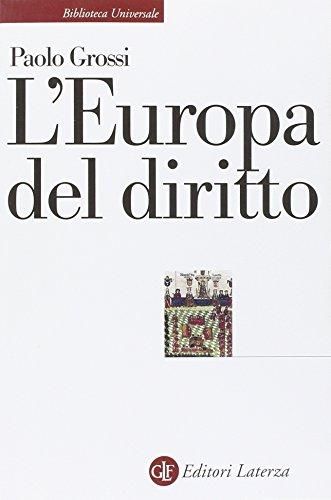 9788858125748: L'Europa del diritto