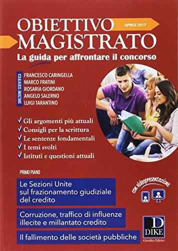 Rivista obiettivo magistrato (2017): 4: Angelo Salerno; Francesco