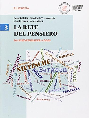 9788858316320: La rete del pensiero. Per i Licei. Con e-book. Con espansione online: 3